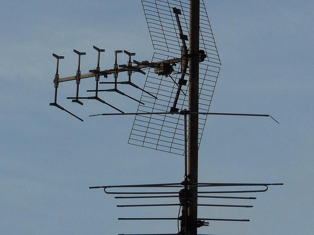 riparare antenna tv